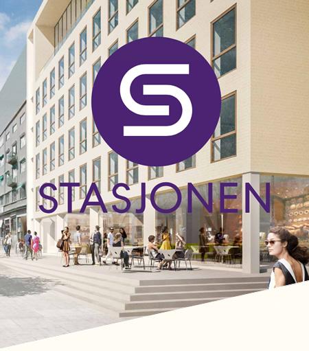 Statsjonen i Tønsberg, med logo